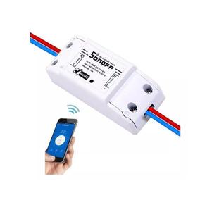 Interruptor Wifi - Switch Inteligente Sonoff Corta Corriente
