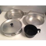 Kit Cozinha Para Acampamento Com 4 Peças *usado