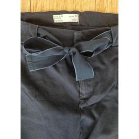 cce47ea7bf9 Pantalon Azul Oscuro Zara Talla 10