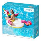 Inflavel Boia De Unicornio Médio Para Piscina - Intex