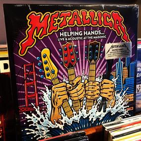 Metallica Helping Hands Live Vinilo Color 2 Lp Nuevo Stock