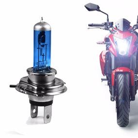 Lampada H4 Para Motos Tipo Xenon 35w Super Branca 8.500k