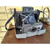 Camara Fotografica Antigua Polaroid De Fuelle De Coleccion