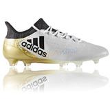Chuteira Campo adidas X 16 1 Fg Masculina Gold Profissional 6beb53174b898