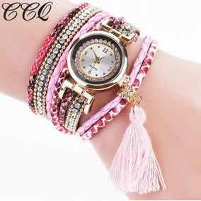 Relógio Pulseira Pedrinhas Brilhosas Lindo Promoção