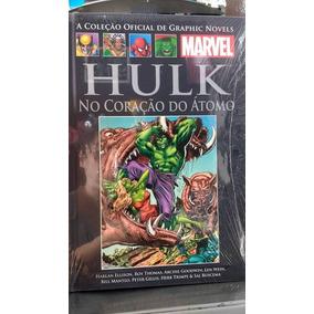 Graphic Novel Xxii Hulk No Coração Do Átomo - Salvat