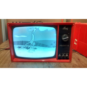Antiga E Rara Televisão Teleotto Baby (12 Pol)
