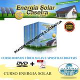 Curso Energia Solar + Brindes (3 Dvd Vídeo Aulas) C1