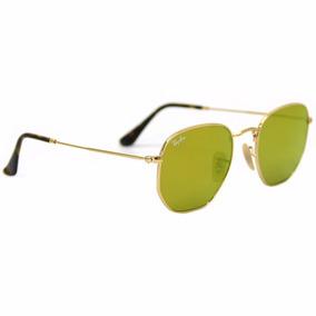 03df88df6f1f3 Oculos Rayban Hexagonal Amarelo De Sol - Óculos De Sol Ray-Ban no ...