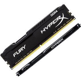 Memória Kingston Hyperx Fury 4gb Ddr4 2400mhz Black