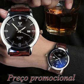 Relógio De Pulso Yazole 298 Tipo Social Em Promoção