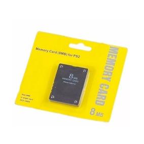 Memory Card 8mb Playstation 2 Ps2 Cartão De Memoria