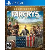 Far Cry 5 Gold Edition Ps4 Digital Gcp