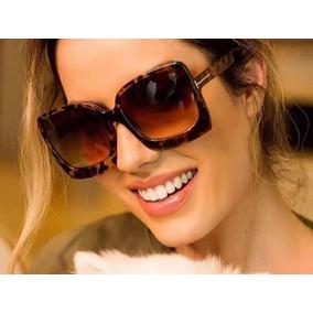 Óculos De Sol Marrom Onça Outras Marcas - Óculos no Mercado Livre Brasil 13155d55a1