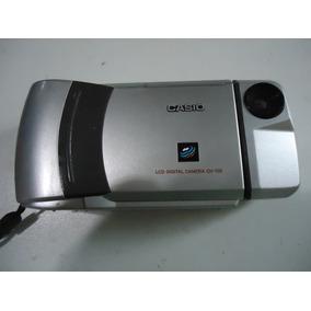 Camera Digital Casio Modelo Qv 100 Leia O Anuncio