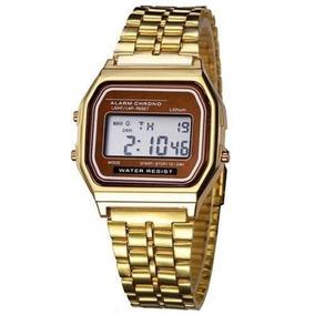 b2bc4bde245 Relógio Casio Wr (f91) Dourado Ou Prata - Relógios De Pulso no ...