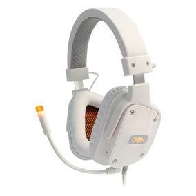 Headset Shield Branco Surround 7.1 Cont Multifuncional Hs409