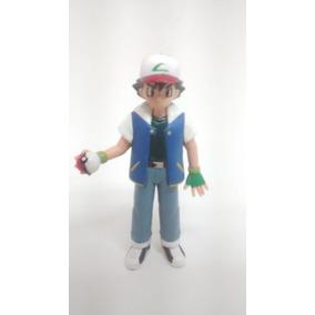 Pokemon Boneco Treinador Ash Antigo Tomy 1998 China