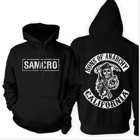 Moletom Capuz Sons Of Anarchy Motos Samcro Harley Blusa Frio 1e71da07c7c
