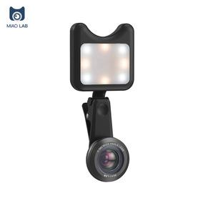 Miao Lab Apl -3663fl Led Beleza Selfie Fill Luz + 0.36x