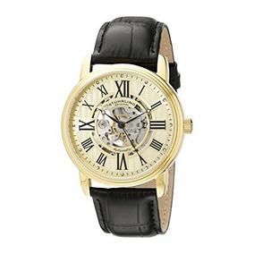 Reloj Hombre 1077.333531 Correa Cuero Automatico Stuhrling
