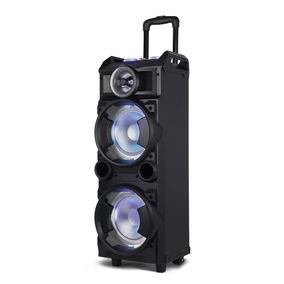 Caixa Som Bluetooth 300w Rms Microfone Controle Remoto Sp282