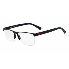 16a3a4c5f7352 Emporio Armani Óculos Ea 1003 3001 Preto Fosco 52mm - Óculos no ...