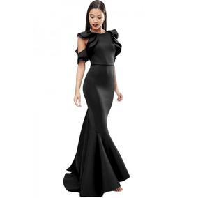 Vestido De Fiesta Negro Black Celebrity