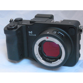 Camera Digital Mirrorless Sigma Sd Quattro H Com Foveon Aps-