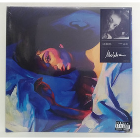 Lp Lorde Melodrama Deluxe Vinil Azul Lacrado .