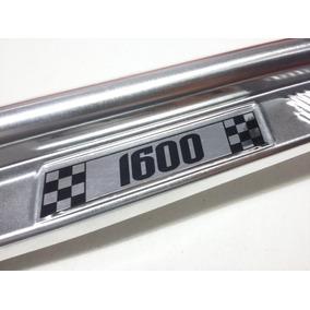 Estribo / Soleira Fusca 1600 Em Inox