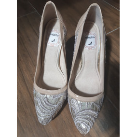 Sapato De Salto Tamanho 38