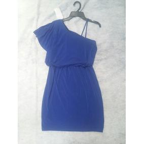 Vestido Talla Chica Azul Rey Ropa Americana Stretch
