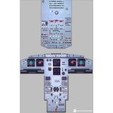 Poster Aviacion ( Panel Airbus A320 )