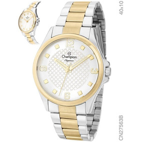 ab02b3b88c6 Relógio Feminino Champion Analógico Cn26215l - Relógios no Mercado ...