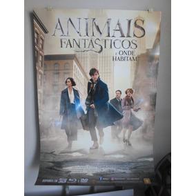 Poster Animais Fantasticos E Onde Habitam - 64 X 94