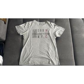 Camisa Siberian De Algodão - Emblema New York City 4ded465458a4e
