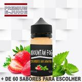 Essência Liquida Premium Para Cigarro Eletrônico 0mg 30ml