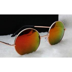 Oculos Estilo John Lennon Espelhado De Sol - Óculos no Mercado Livre ... 40dea27be4