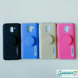 Forro Antigolpe Popsockets Motomo Samsung J6 Tienda Chacao