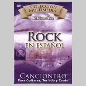 Cancionero Rock En Español Para Guitarra Teclado Y Dvd Nuevo