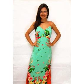af885c0ba9 Bonprix Vestido Longo Colorido - Vestidos Femininas Verde no Mercado ...