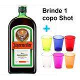 fc05c05e7a6 Licor Alemão 700ml Jagermeister + Brinde 1 Copo Shot