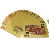 Baralho Poker Truco Preto / Ouro / Prata - Pvc Prova D