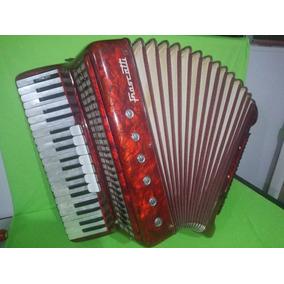 Acordeon 120 Baixos Frascatti - Instrumento Doméstico