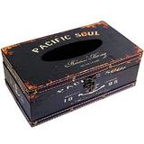 Rústico Vintage Tissue Soporte Caja Decorativa Shabby Chic