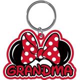 Disney Grandma Family Minnie Mouse Keychain Llavero Lasercut d8579571cce