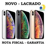 iPhone Xs Max 64gb A2101 Anatel Nacional Lacrado Nf Garantia