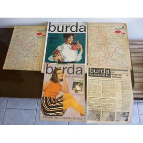 Revista Antiga Burda Moden 12 Dezembro 1967