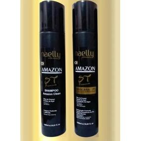 Naelly Amazon P1 Progressiva Sem Formol + Shampoo + Brinde